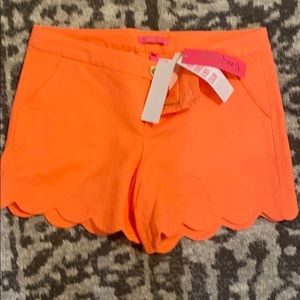 BNWT Lilly P buttercup stretch shorts size 10